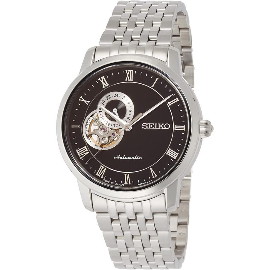 [セイコーウォッチ] 腕時計 プレザージュ 自動巻(手巻つき) ペア サファイアガラス SARY063 シルバー