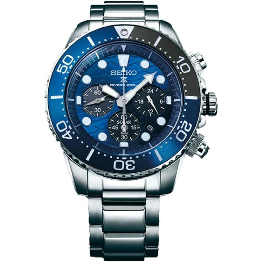 [セイコー] SEIKO プロスペックス PROSPEX 2019モデル SSC741P1 ダイバースキューバ ソーラークロノグラフ メンズ 腕時計
