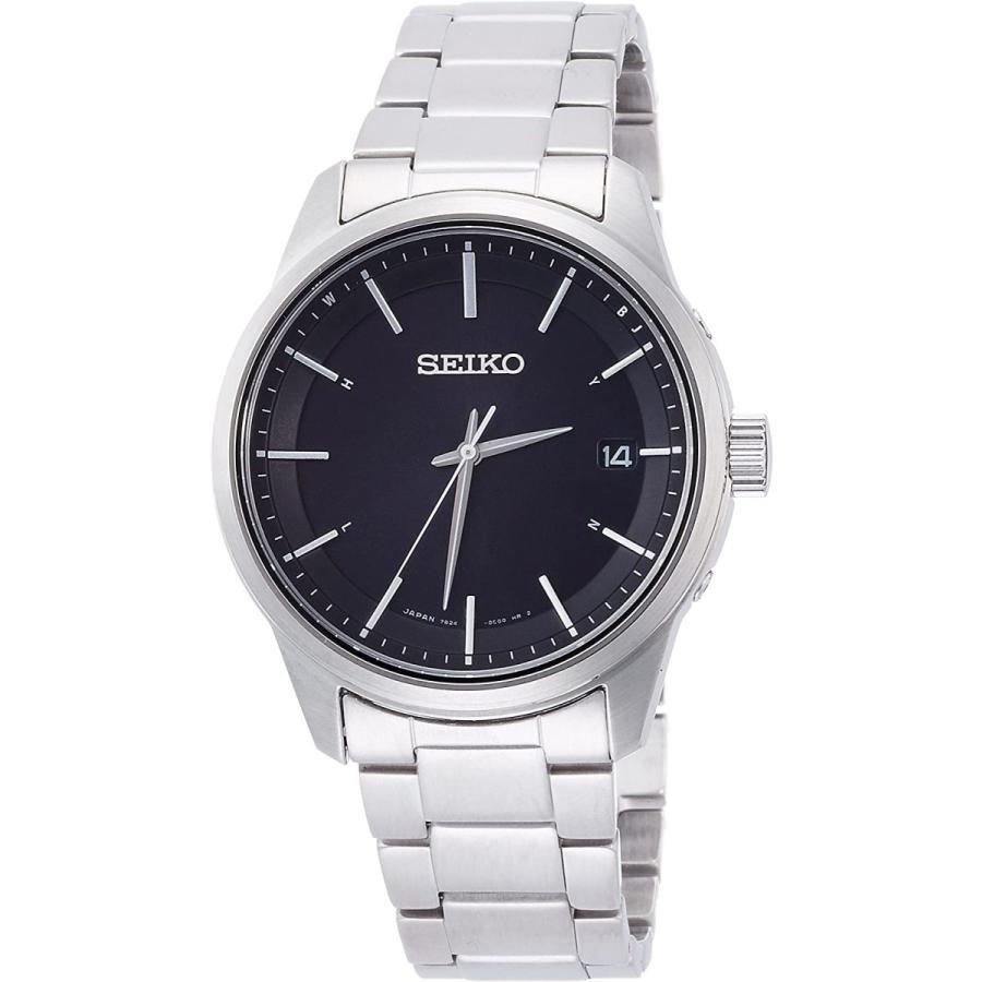 [セイコーウォッチ] 腕時計 スピリット ソーラー電波修正 サファイアガラス SBTM233