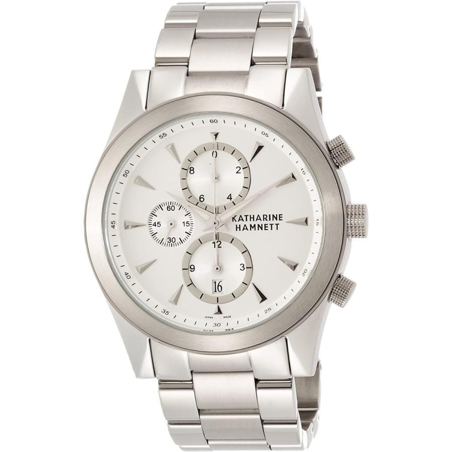 [キャサリンハムネット] 腕時計 KH2059-B14 シルバー
