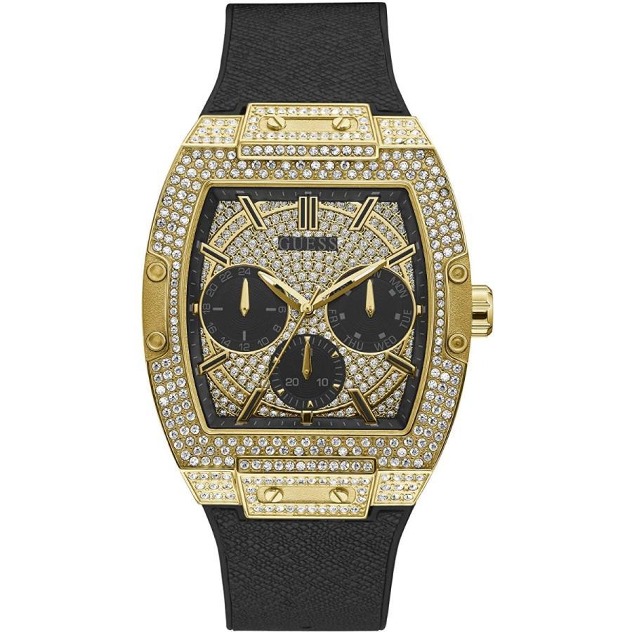 [ゲス ウォッチ] 腕時計 GW0048G2 メンズ 正規輸入品 ブラック
