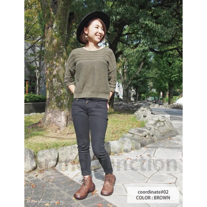 【完売】ブーツ 厚底 レディース 編み上げ リゲッタカヌー プレミアム セール SALE|gjweb|05