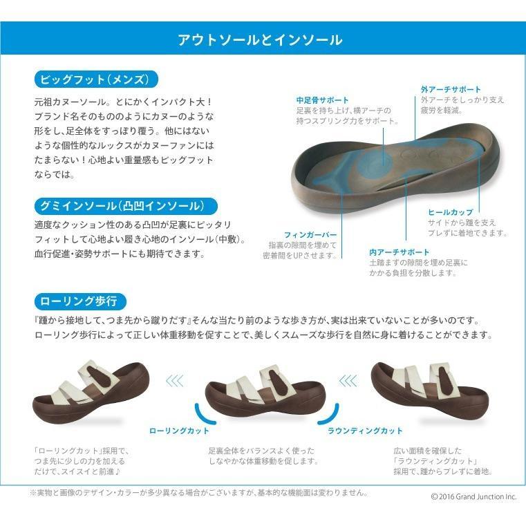 リゲッタカヌー サンダル メンズ おしゃれ ベルト マジックテープ PU 素材|gjweb|18