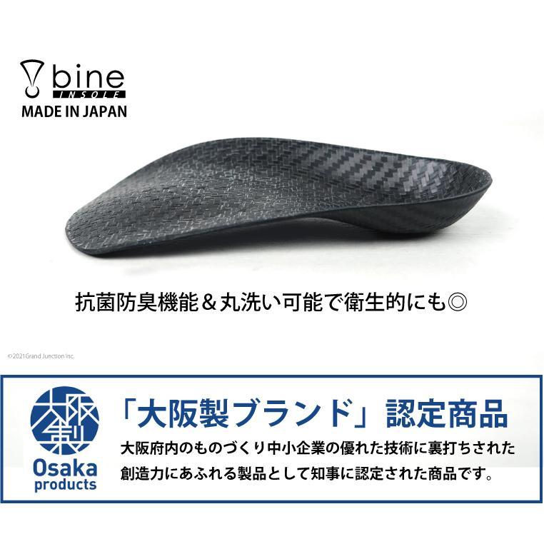 リゲッタ バイン インソール bine レディース メンズ スポーツ 衝撃吸収 軽量 薄型 中敷き 靴 パンプス ビジネス 足袋 insole|gjweb|04