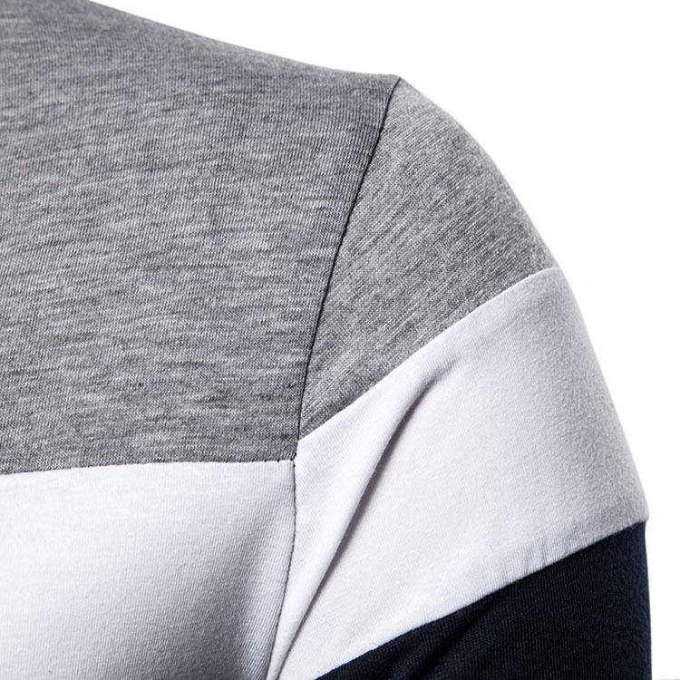 ポロシャツ メンズ トップス 大きいサイズ 長袖 ファッション 3色切り替え トレンド ゴルフウェア おしゃれ スポーツ 春秋 ゴルフ シャツ 紳士服 カジュアル 3色|glanz-shop|12