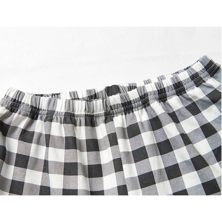 パジャマレディース 長袖 綿 柔らかく軽い薄手の快適Tシャツパジャマ 上下セット 春秋 2点セット プリント ナイトウェア ルームウェア 女士用 部屋着 寝間着10色 glanz-shop 17