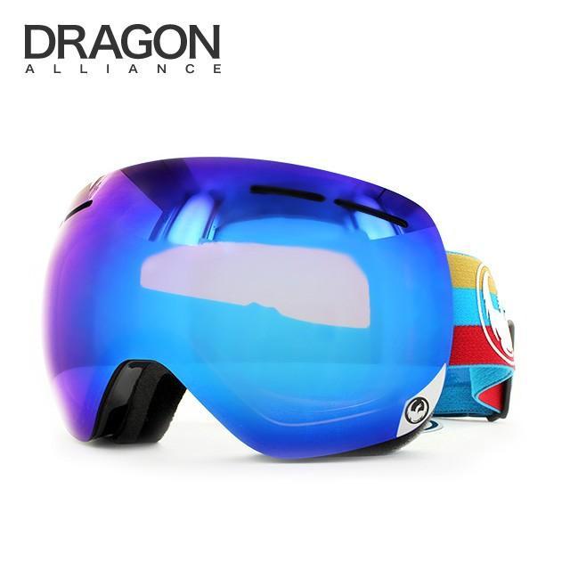 ドラゴン ゴーグル 2014-2015年モデル ミラーレンズ レギュラーフィット DRAGON X1s 722-5440 スキー スノーボード スノボ メンズ レディース