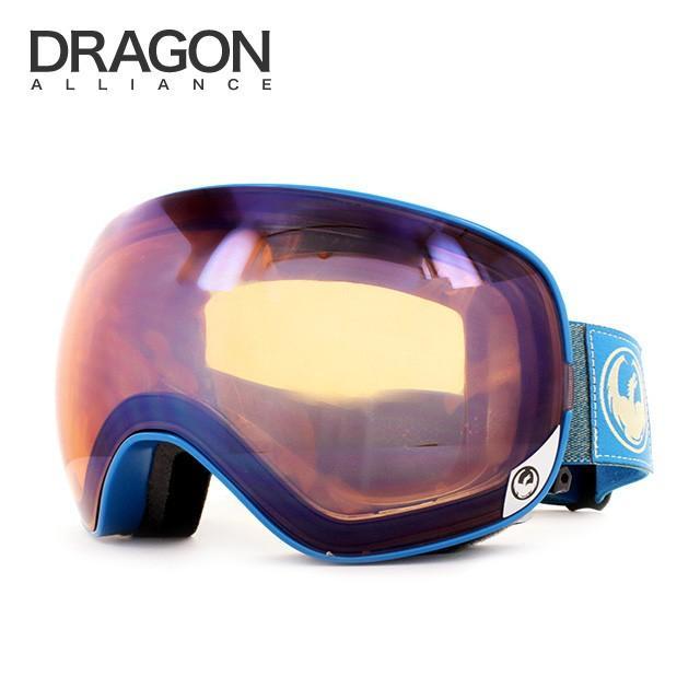 ドラゴン ゴーグル 2015-2016年モデル ミラーレンズ レギュラーフィット DRAGON X2s 722-6268 スキー スノーボード スノボ メンズ レディース