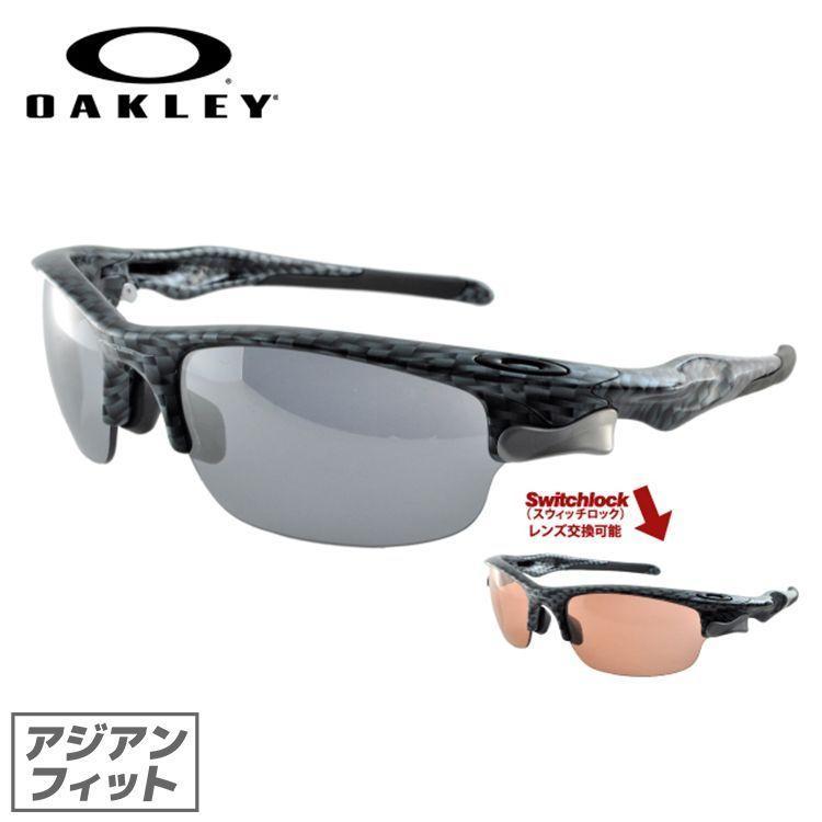 オークリー サングラス アジアンフィット OAKLEY oo9162-12 ファストジャケット Carbon Fiber Slate Iridium メンズ レディース スポーツ