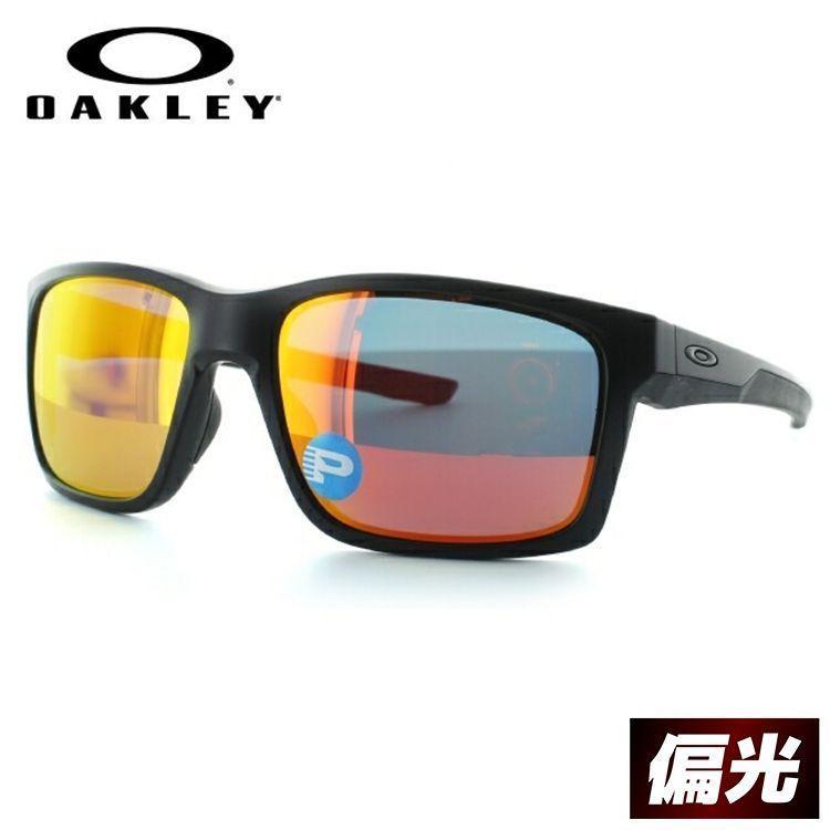 オークリー サングラス 度付き対応 メンズ スポーツ 偏光 メインリンク MAINLINK oo9264-07 レギュラーフィット