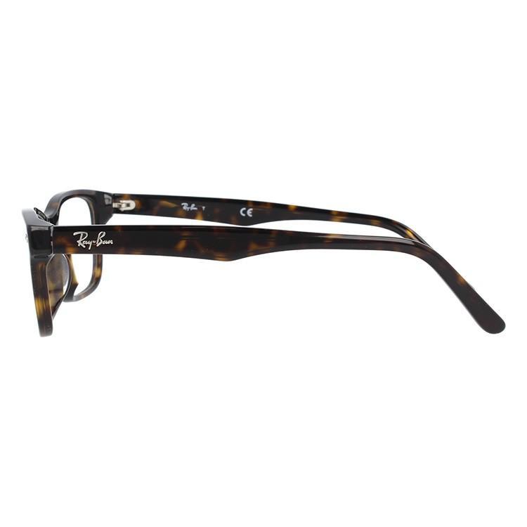 レイバン メガネ 伊達・度付きレンズ無料 眼鏡 フレーム スクエア アジアンフィット フルフィット Ray-Ban RX5345D (RB5345D) 2012 53サイズ 国内正規品|glass-expert|04