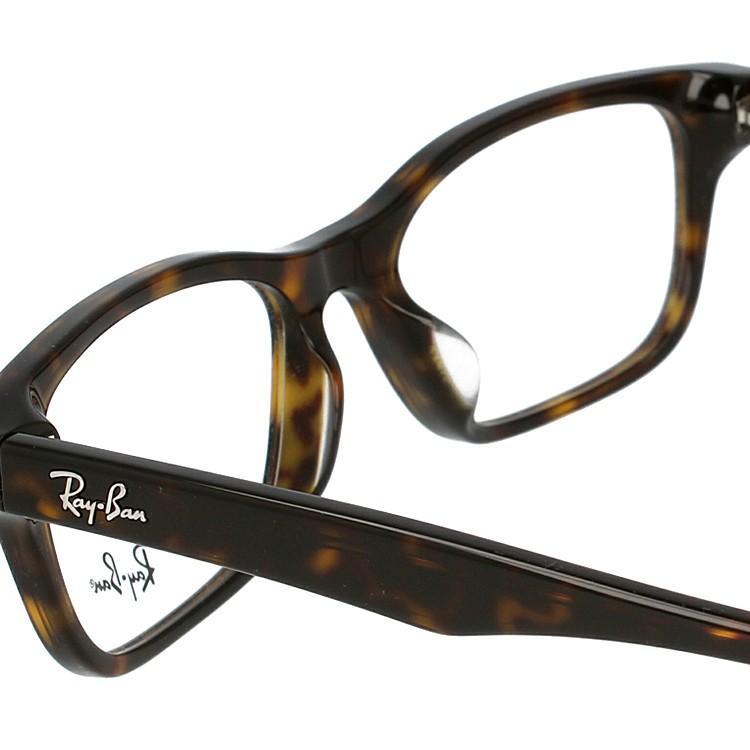 レイバン メガネ 伊達・度付きレンズ無料 眼鏡 フレーム スクエア アジアンフィット フルフィット Ray-Ban RX5345D (RB5345D) 2012 53サイズ 国内正規品|glass-expert|07
