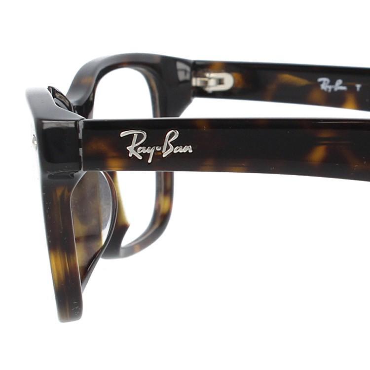 レイバン メガネ 伊達・度付きレンズ無料 眼鏡 フレーム スクエア アジアンフィット フルフィット Ray-Ban RX5345D (RB5345D) 2012 53サイズ 国内正規品|glass-expert|08