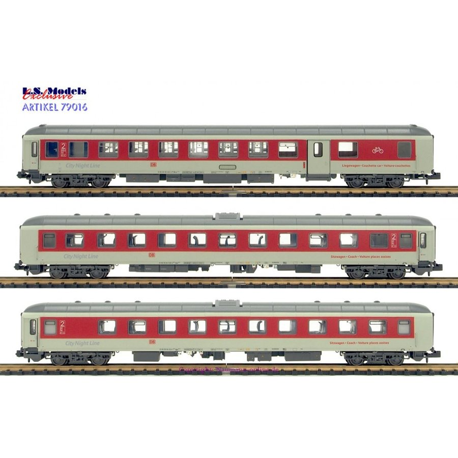 LS Models N City Night Line 79016
