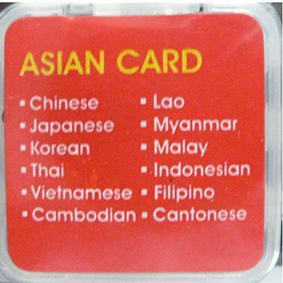 アジア言語拡張カード(11言語)GLC-AA11【GT-V4(LV4) & V5 共用】 globalmart