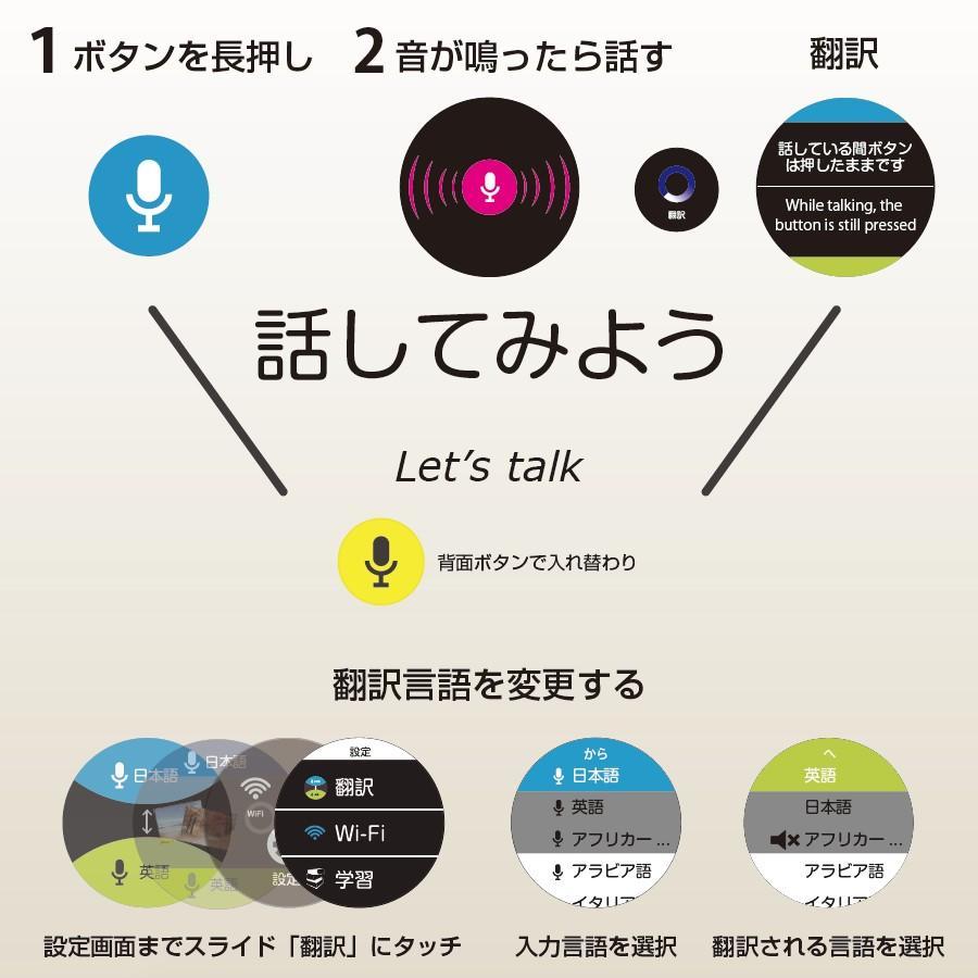 Langie(ランジー)多機能音声 翻訳機 - コミュニケーションが必要な場所で globalmart 03