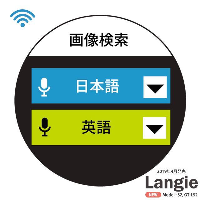 ランジー翻訳機 2019 - S2:SIM付き(国内通信1年有効) globalmart 13