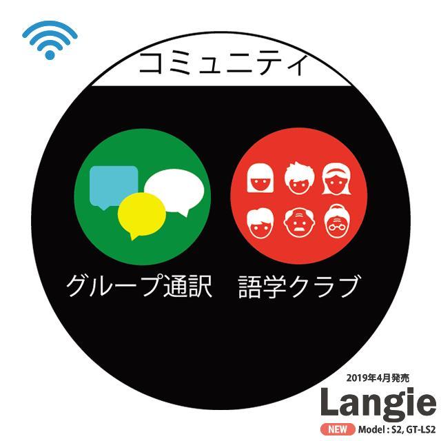 ランジー翻訳機 2019 - S2:SIM付き(国内通信1年有効) globalmart 14
