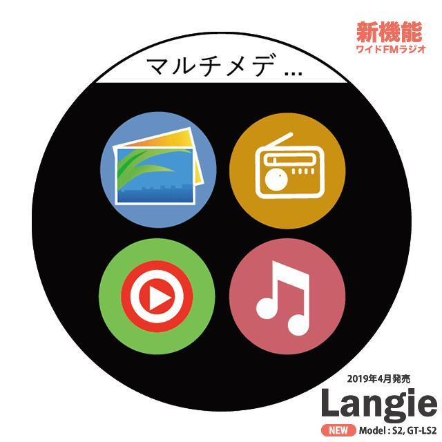 ランジー翻訳機 2019 - S2:SIM付き(国内通信1年有効) globalmart 15