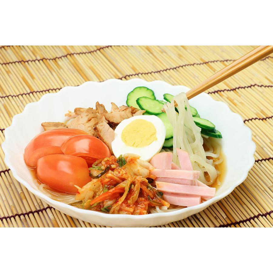 冷麺 (麺+スープ)1食セット globalmart 02