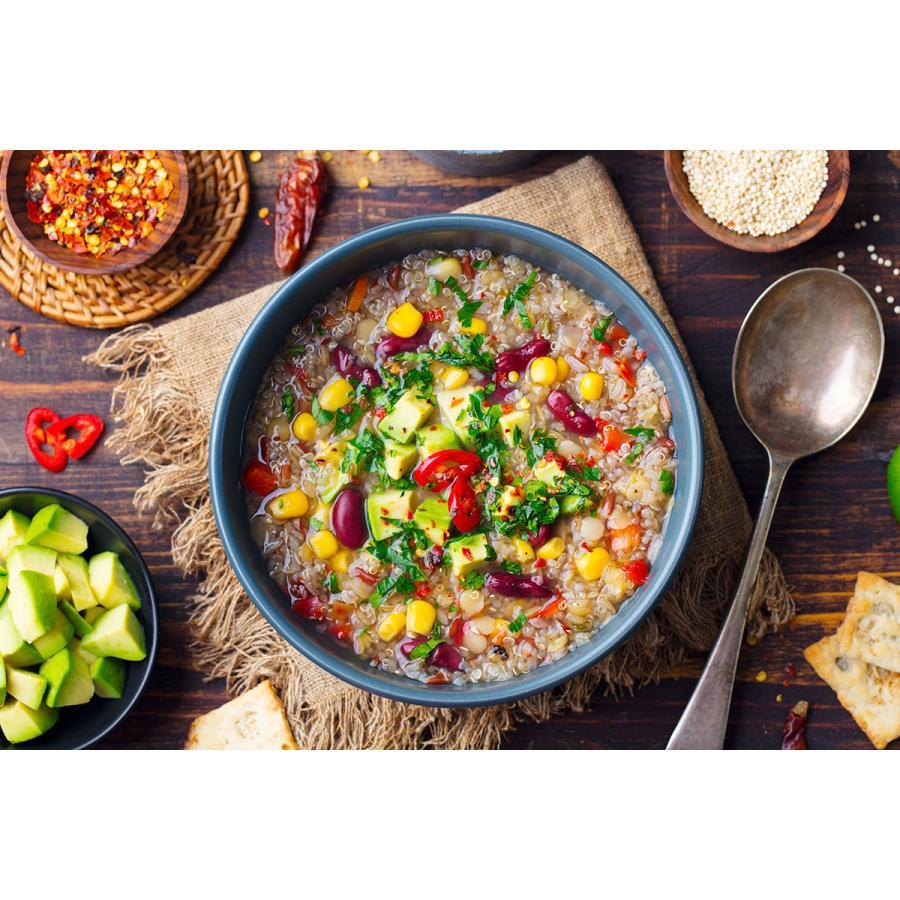 白キヌア(粒)2 kg - ORGANIC & GLUTEN-FREE Royal Quinoa|globalmart|02