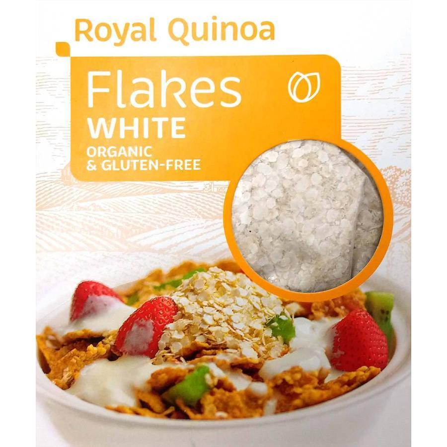 ロイヤルキヌアフレーク赤・白 250 g - ORGANIC & GLUTEN-FREE Royal Quinoa|globalmart