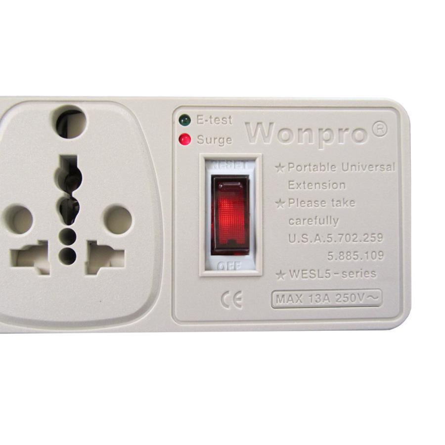 マルチテーブルタップ 5口 WONPRO WESL.5 globalmart 04