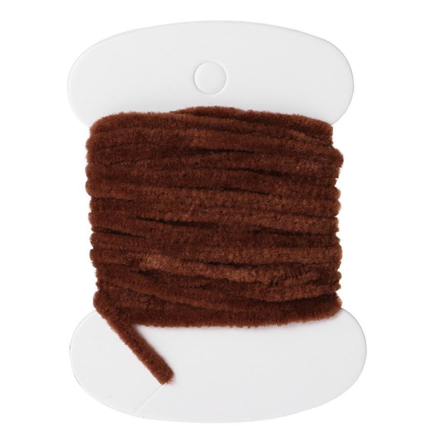 3.0メートルワームレーヨン糸錦糸シェニールフロスライン8色スレッドウーリーニンフフライ抱き合わせ材料