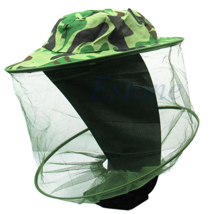 昆虫蜂蚊抵抗バグ?ヘッドフェイスプロテクター釣りキャップ太陽の帽子