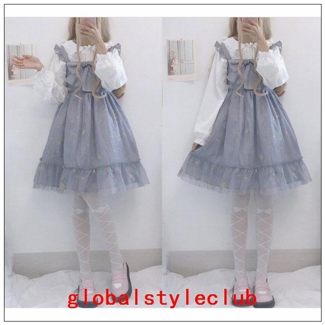 タイツストッキングレディースファッション小物靴下ロリータロリィタホワイトソックス|globalstyleclub|03