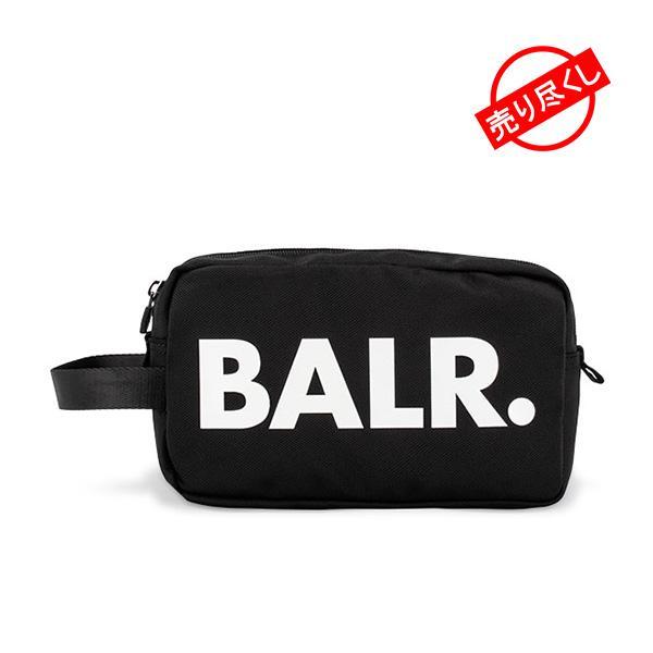 ボーラー BALR ポーチ 安い 激安 プチプラ 高品質 贈呈 バッグインバッグ B10033 ブラック メンズ レディース ロゴ ブランド ナイロン