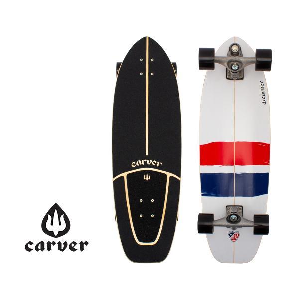 【5%還元】【あすつく】カーバースケートボード Carver Skateboards C7 コンプリート 32.25インチ ユーエスエー スラスター