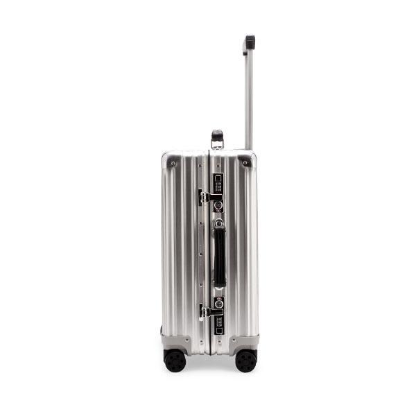 リモワ RIMOWA クラシック 97253004 キャビン 36L 4輪 機内持ち込み スーツケース シルバー Classic|glv|04