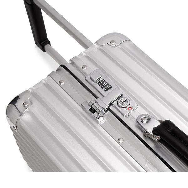 リモワ RIMOWA クラシック 97253004 キャビン 36L 4輪 機内持ち込み スーツケース シルバー Classic|glv|09