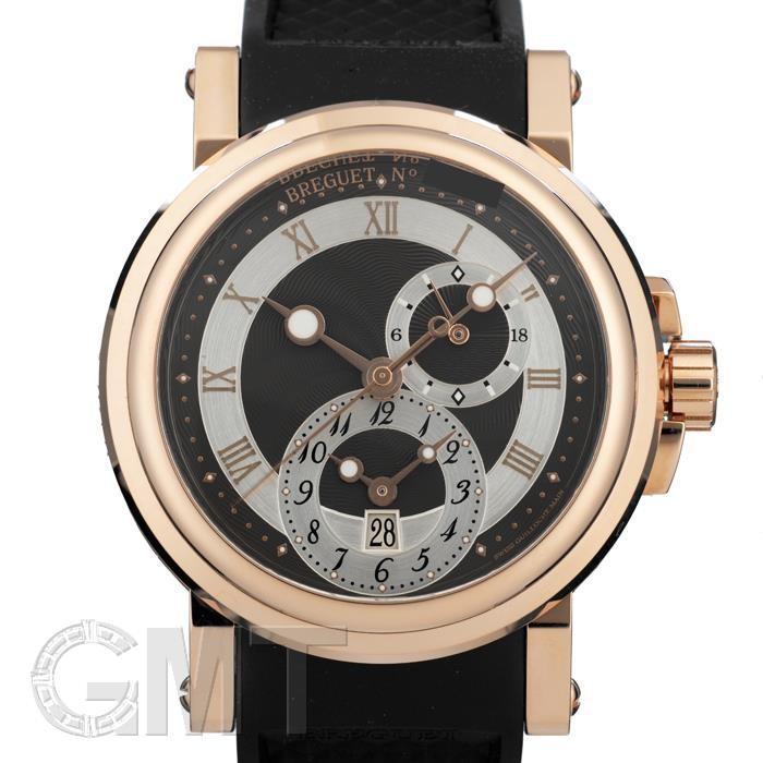 人気商品の ブレゲ マリーン GMT RGラバー BK 5857BR/Z2/5ZU BREGUET MARINE, 伝動機 01e408b1