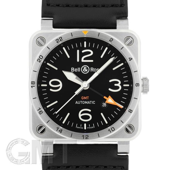 最高級のスーパー BELL 腕時計 & ROSS BR 03-93 BELL GMT BR0393-GMT-ST BR/SCA BELL & ROSS 新品 メンズ 腕時計 送料無料 年中無休, MURA:982ba192 --- airmodconsu.dominiotemporario.com
