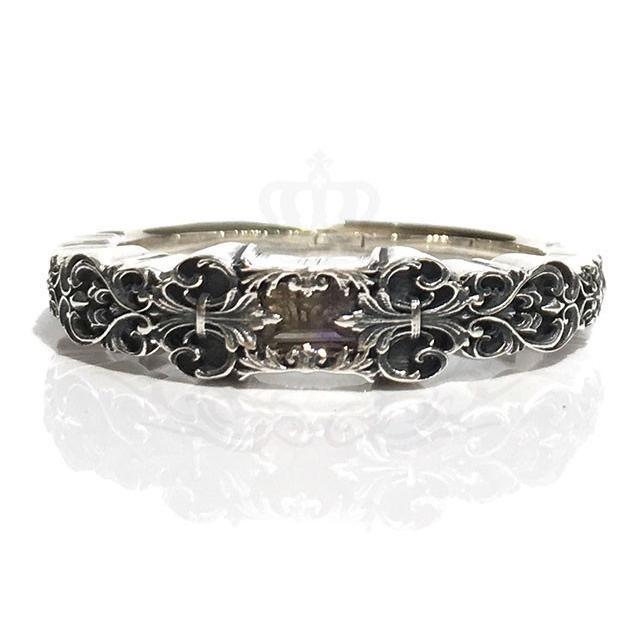 【正規品】 GnB フローラル Ring フルール リング Silver925 w/アメトリン シルバー925 Fleur Ring Floral Fleur Engraved Silver925, DOORS STORE:08cff391 --- airmodconsu.dominiotemporario.com