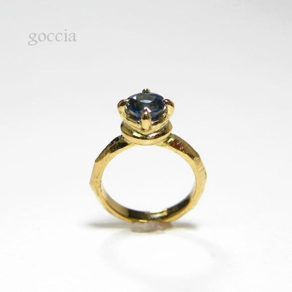 誕生石が選べる!K18ゴールドのベビーリング(チェーン付き)。出産祝い、赤ちゃんのギフトに!(チェーン付き)(baby-1)|goccia|05