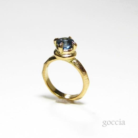 誕生石が選べる!K18ゴールドのベビーリング(チェーン付き)。出産祝い、赤ちゃんのギフトに!(チェーン付き)(baby-1)|goccia|06