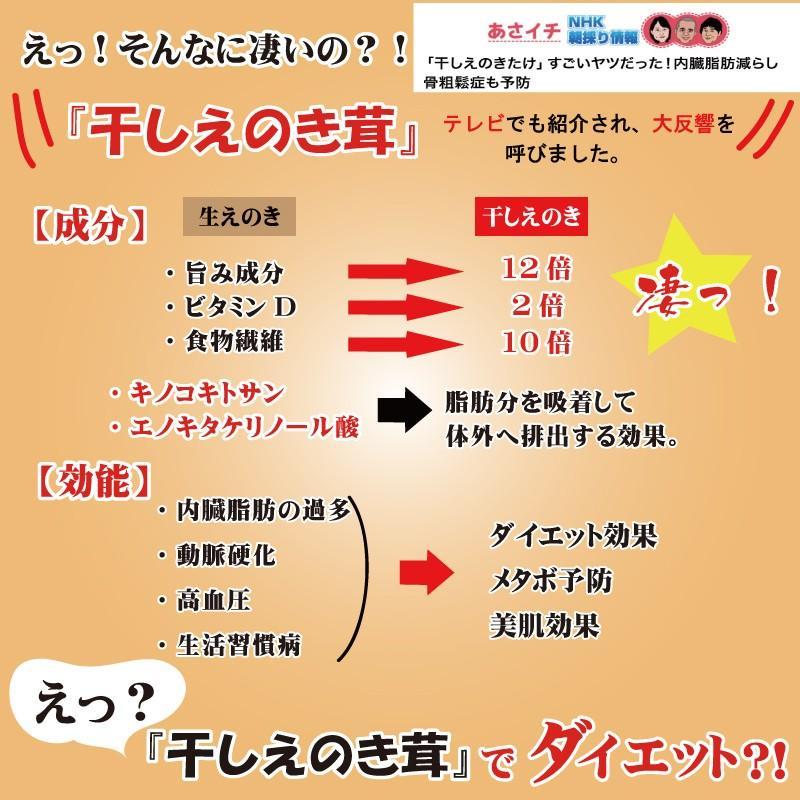 干しえのき 40g×3 越前国見産 無添加 驚きのパワー gochisou-otoriyose 03