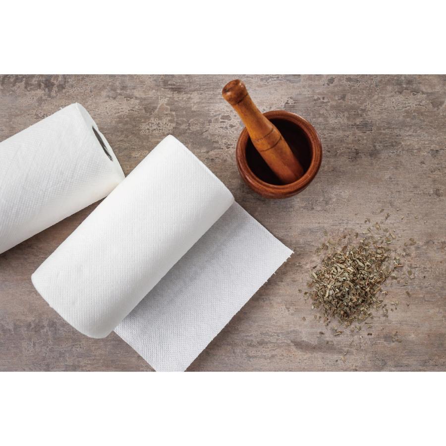 キッチンペーパー キッチンタオル 竹 バンブータオル バンブー ペーパータオル ふきん 雑巾 1ロール 20枚 1枚80回使える bamboo|gochumon|13