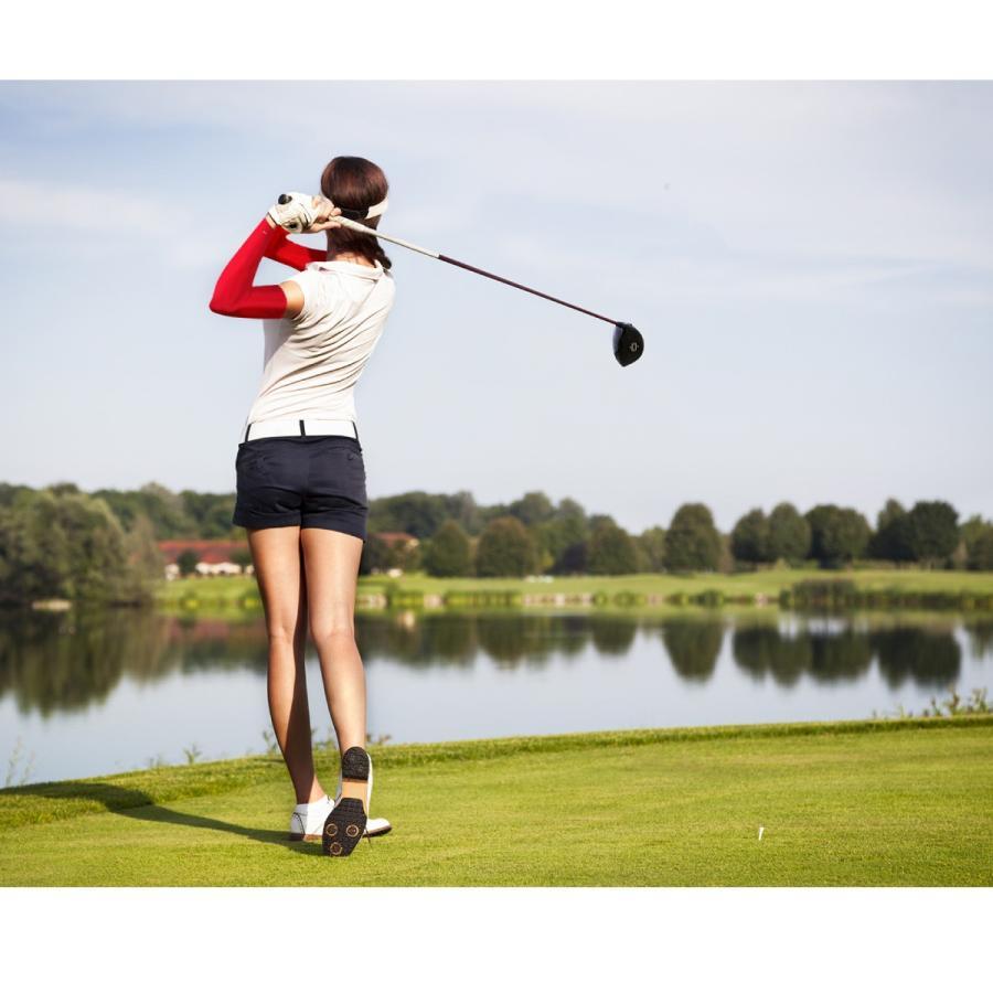 冷感 アームカバー ひんやり UV レディース メンズ スポーツ おしゃれ 可愛い ゴルフ アウトドア UV対策 涼しい jiang cool-ac02 gochumon 19