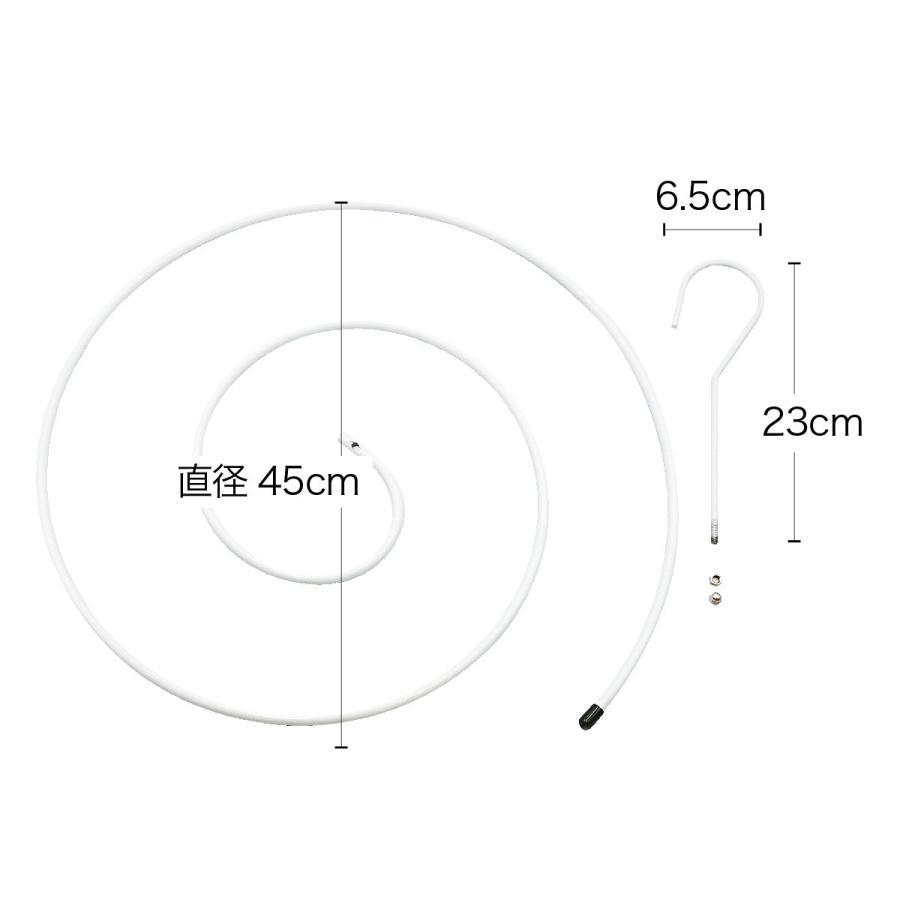 シーツハンガー 2個セット スパイラルハンガー ハンガー 布団 バスタオル シーツ 便利グッズ 便利 物干しハンガー ハンガーラック 洗濯 hanger-sp2|gochumon|13