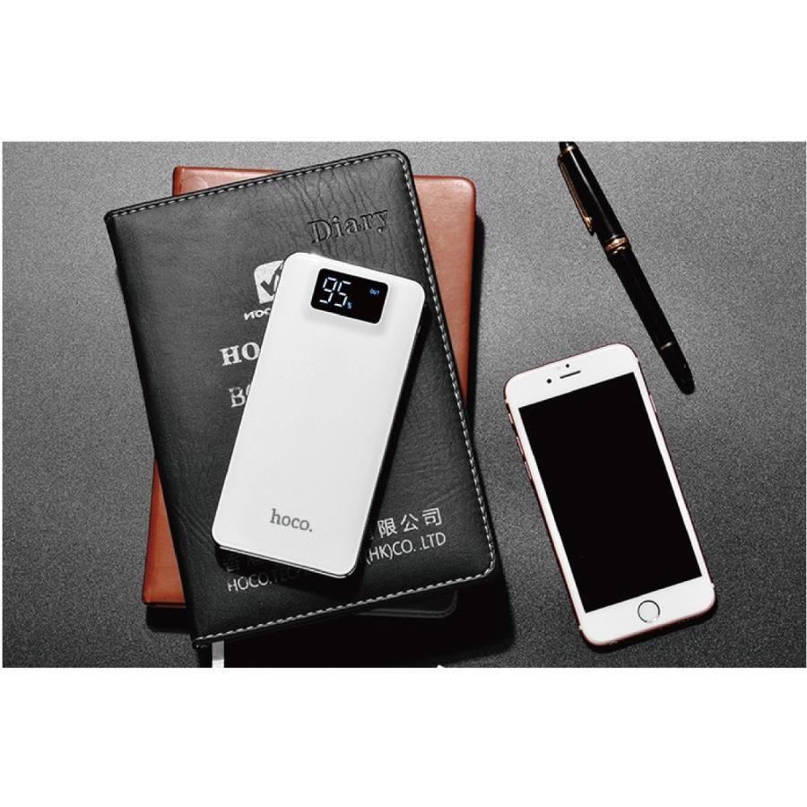 モバイルバッテリー 10000mAh 大容量 軽量 iPhone8 plus iPhone android スマホ 充電器 モバイル バッテリー hoco hoco-bt01|gochumon|19
