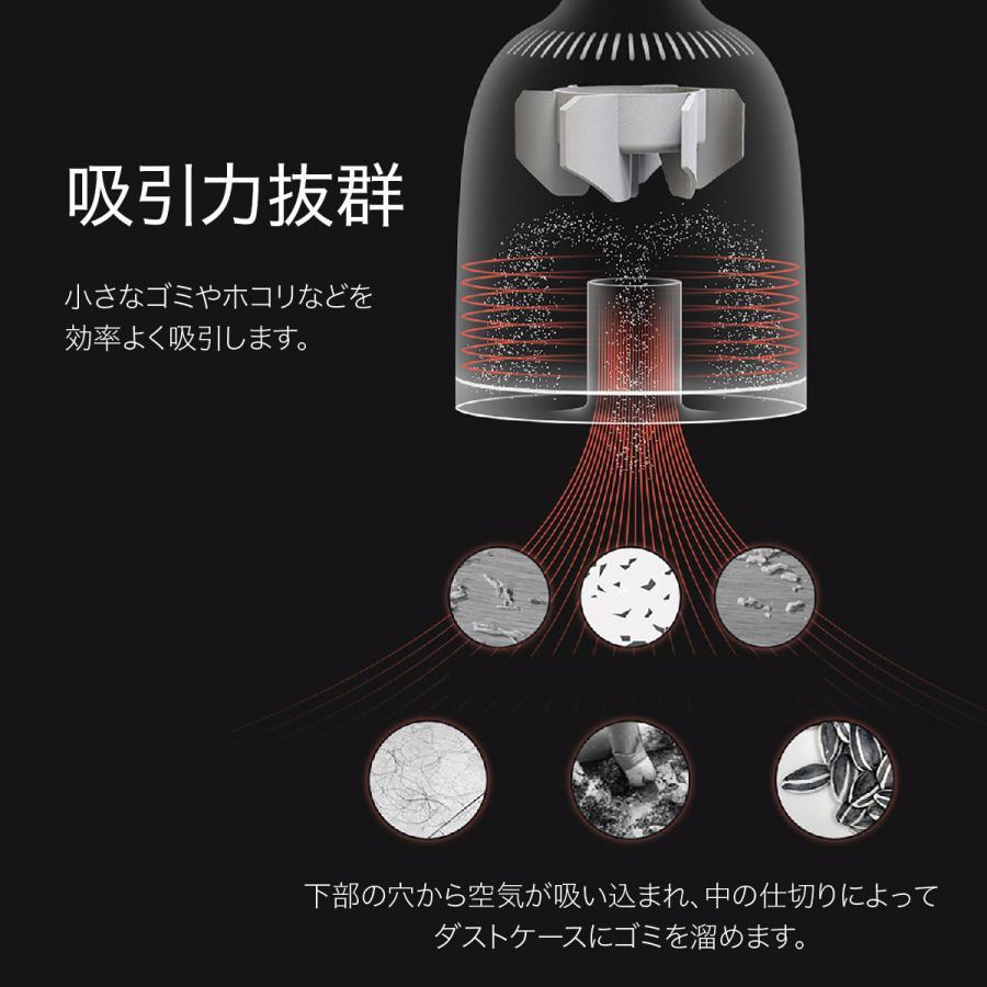 ミニ掃除機 小型掃除機 ハンディクリーナー コードレス コードレス掃除機 小さい 掃除機 卓上掃除機 ミニクリーナー おしゃれ mini-sojiki 【hawks202110】|gochumon|12