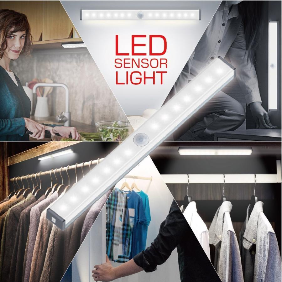 LEDライト 感知式 照明 人感 センサーライト ledセンサーライト 人感センサー ライト 屋外 室内 小型 玄関 クローゼット 廊下 jiang senser-01|gochumon|05