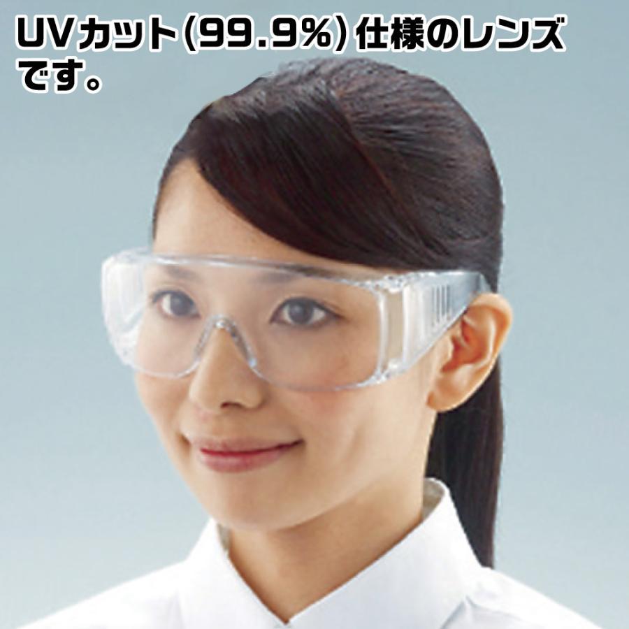一眼型セーフティグラス レンズ透明 (眼鏡併用可) トラスコ中山 ネコポス非対応 取寄品 godhand 02