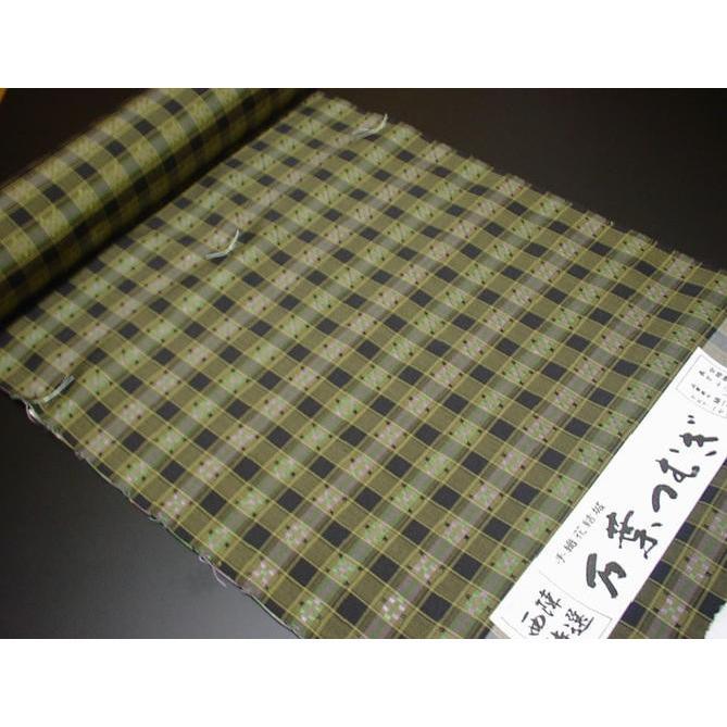 宅配 手織花結城《万葉つむぎ》(送料無料), アケノマチ 37f9b381