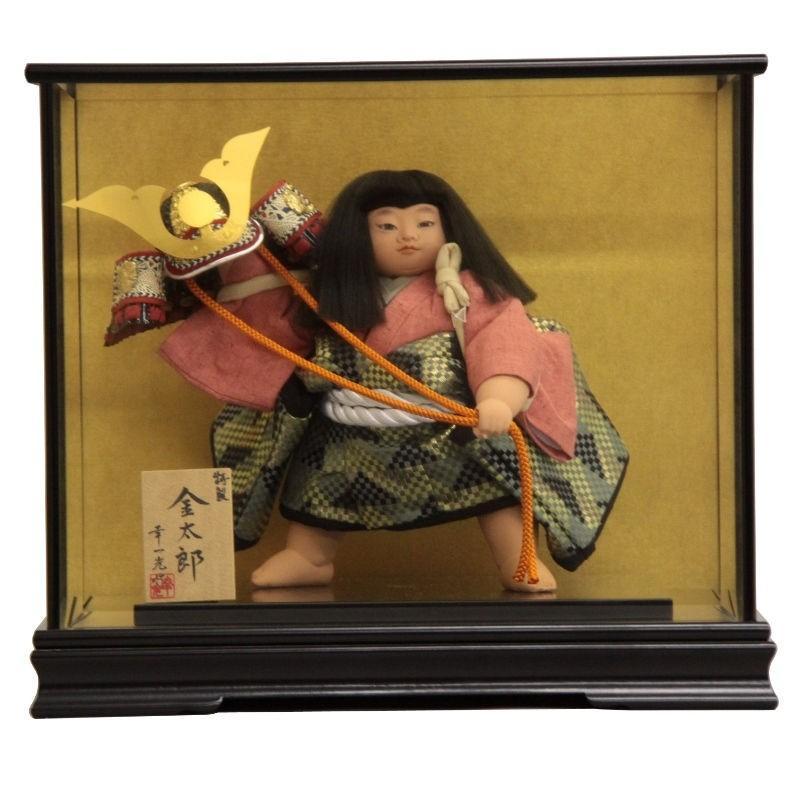 五月人形 ケース入り 金太郎人形 特製10号 mk160 幸一光 185to2060