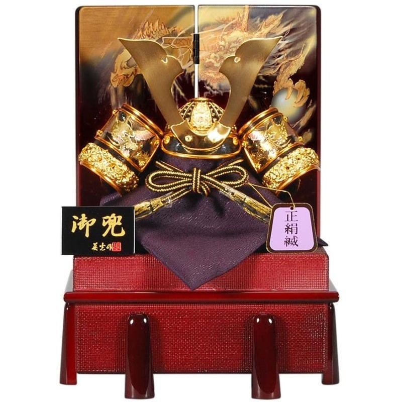 五月人形 兜 収納飾り 幅23cm [sb-12-89]